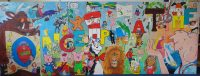 Y6 Artist project for the school Library